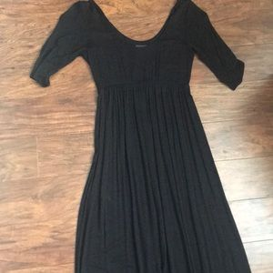 Black jersey knit Maxie dress small
